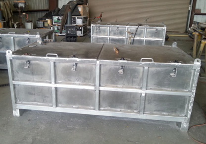 DNV 2.7.1 Aluminum Asset Boxes - Compliance Inspection Services