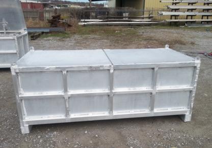 DNV 2.7.1 Aluminum Asset Boxes - Compliance Inspection Services