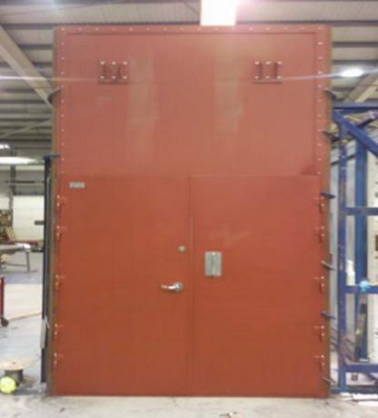 A60 Double Module Door